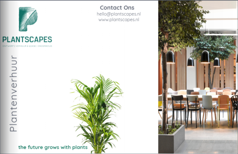brochure-verhuur-plantscapes-plantenverhuur